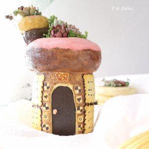 モルタルのお菓子の家