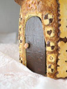 モルタル造形お菓子の家
