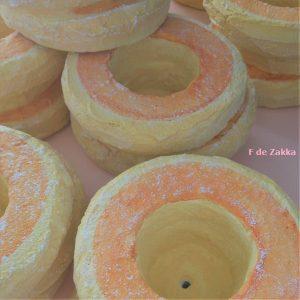 パンケーキ植木鉢